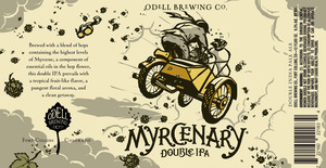 Odell Brewing Company Myrcenary Double India Pale Ale May 2016