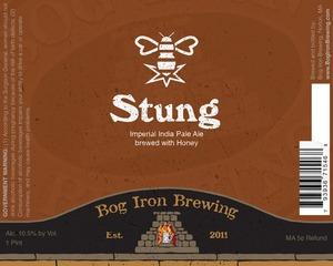 Bog Iron Brewing Stung