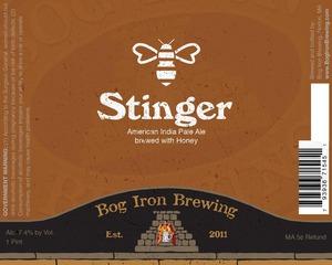 Bog Iron Brewing Stinger