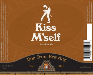 Bog Iron Brewing Kiss M'self