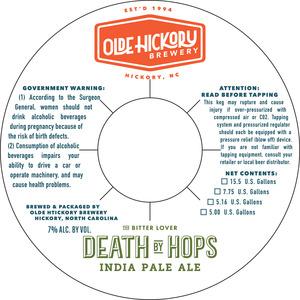 Death By Hops de la brasserie Olde Hickory