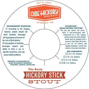 Bâton hickory de brasserie Olde Hickory