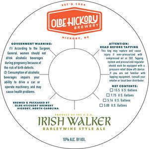 Walker irlandais de la brasserie Olde Hickory