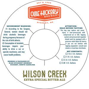 Brasserie Olde Hickory à Wilson Creek