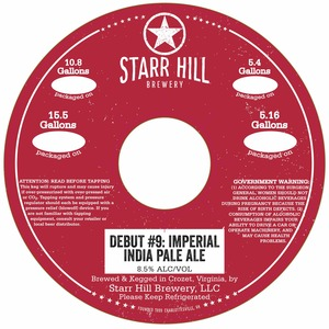 Starr Hill Imperial India Pale Ale