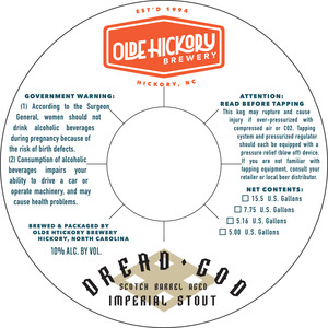 Olde Hickory Brewery Dread God