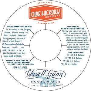 Brasserie Olde Hickory Wavell Gunn