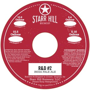 Starr Hill R & D #2
