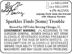Off Color Brewing Sparkles Finds Some Trouble