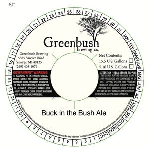 Greenbush Brewing Co. Buck In The Bush