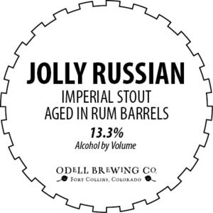Odell Brewing Company Jolly Russian Barrel Aged Imperial Stout