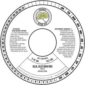 Perennial Artisan Ales Ollie, Ollie Oxen Free