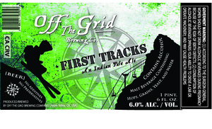 Off The Grid Brewing Co. First Tracks