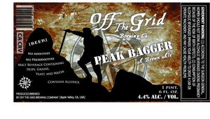 Off The Grid Brewing Co. Peak Bagger