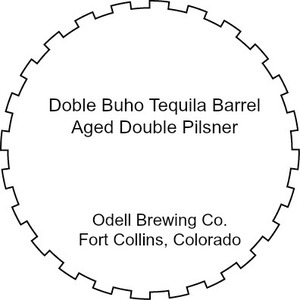 Odell Brewing Company Doble Buho Double Pilsner