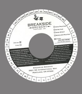 Breakside Brewery God Only Knows