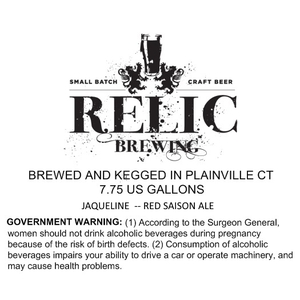 Relic Brewing Jaqueline