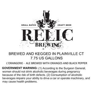 Relic Brewing L'orangerie