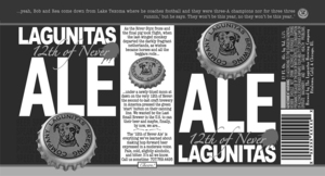 The Lagunitas Brewing Company Lagunitas 12th Of Never Ale