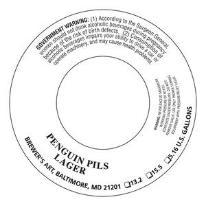 The Brewer's Art Penguin Pils