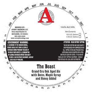Avery Brewing Co. The Beast Grand Cru Oak Aged