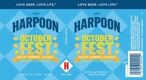Harpoon Octoberfest