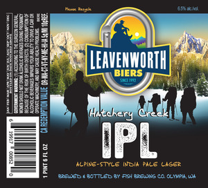 Leavenworth Biers Hatchery Creek Ipl