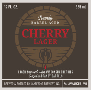 Lakefront Brewery Cherry