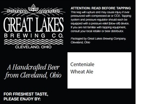 The Great Lakes Brewing Co. Centeniale