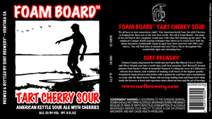 Tart Cherry Sour Foam Board