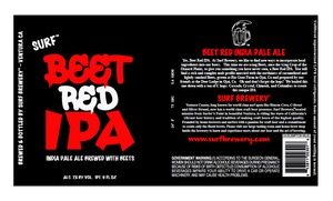 Surf Brewery Beet Red IPA