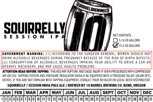 10 Barrel Brewing Co Squirrelly June 2016