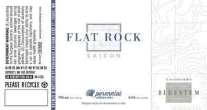 Perennial Artisan Ales Flat Rock Saison