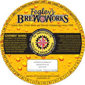 Fegley's Brew Works Goundie's Old Monocacy