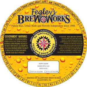 Fegley's Brew Works Hoppy Saison