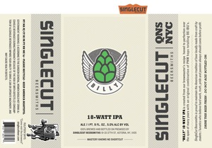 Billy 18-watt IPA