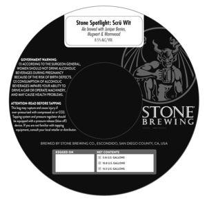 Stone Spotlight Scru Wit