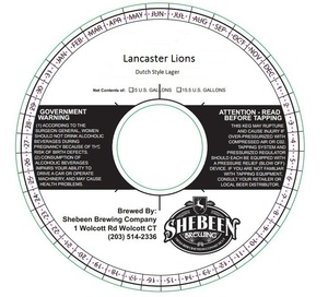 Shebeen Brewing Company Lancaster Lions