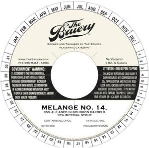 The Bruery Melange No. 14