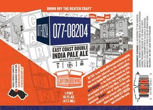 Carton Brewing Co. 077-08204