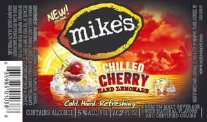 Mike's Chilled Cherry Hard Lemonade