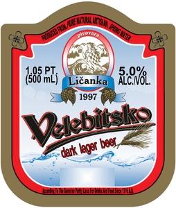 Velebitsko Dark Lager Beer