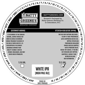 Natty Greene's Brewing Co. White IPA