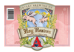 Avery Brewing Co. Hog Heaven Imperial Red