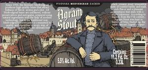 Pivovara Medvedgrad Agram Stout