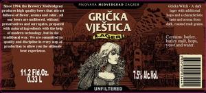 Pivovara Medvedgrad Gricka Vjestica