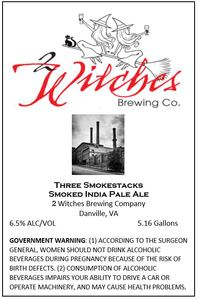 2 Witches Brewing Company Three Smokestacks
