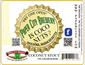 Is Coco Nuts ? Coconut Stout