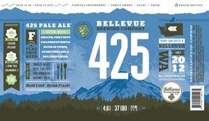 Bellevue Brewing Company Bellevue Brewing 425 Pale Ale