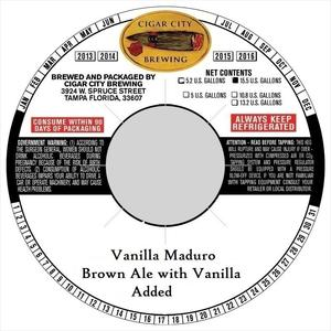 Vanilla Maduro